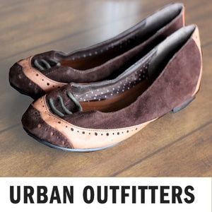 brown URBAN OUTFITTERS Flats